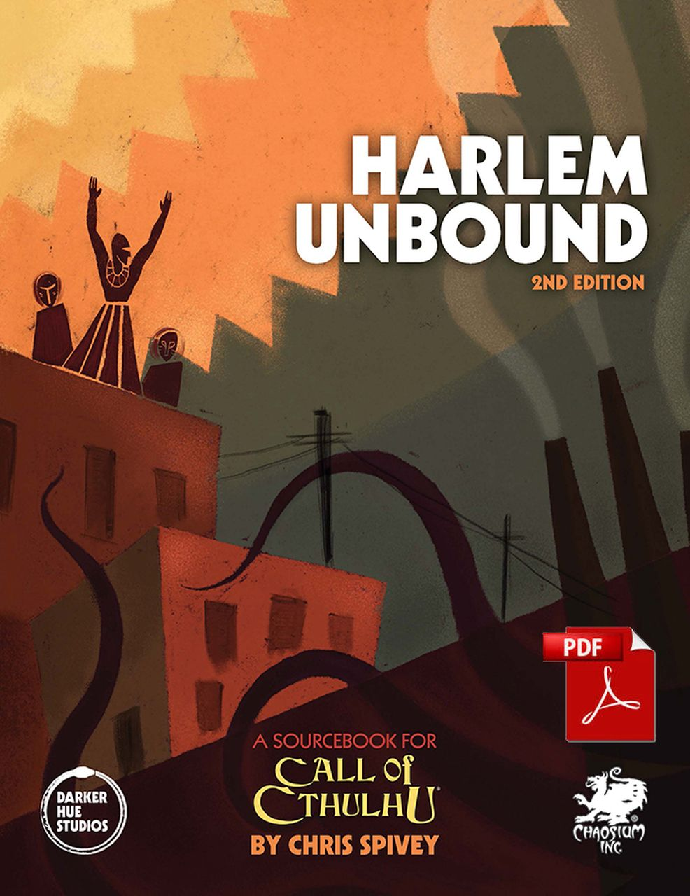 Supplement your role-playing with Harlem Unbound 2nd Edition