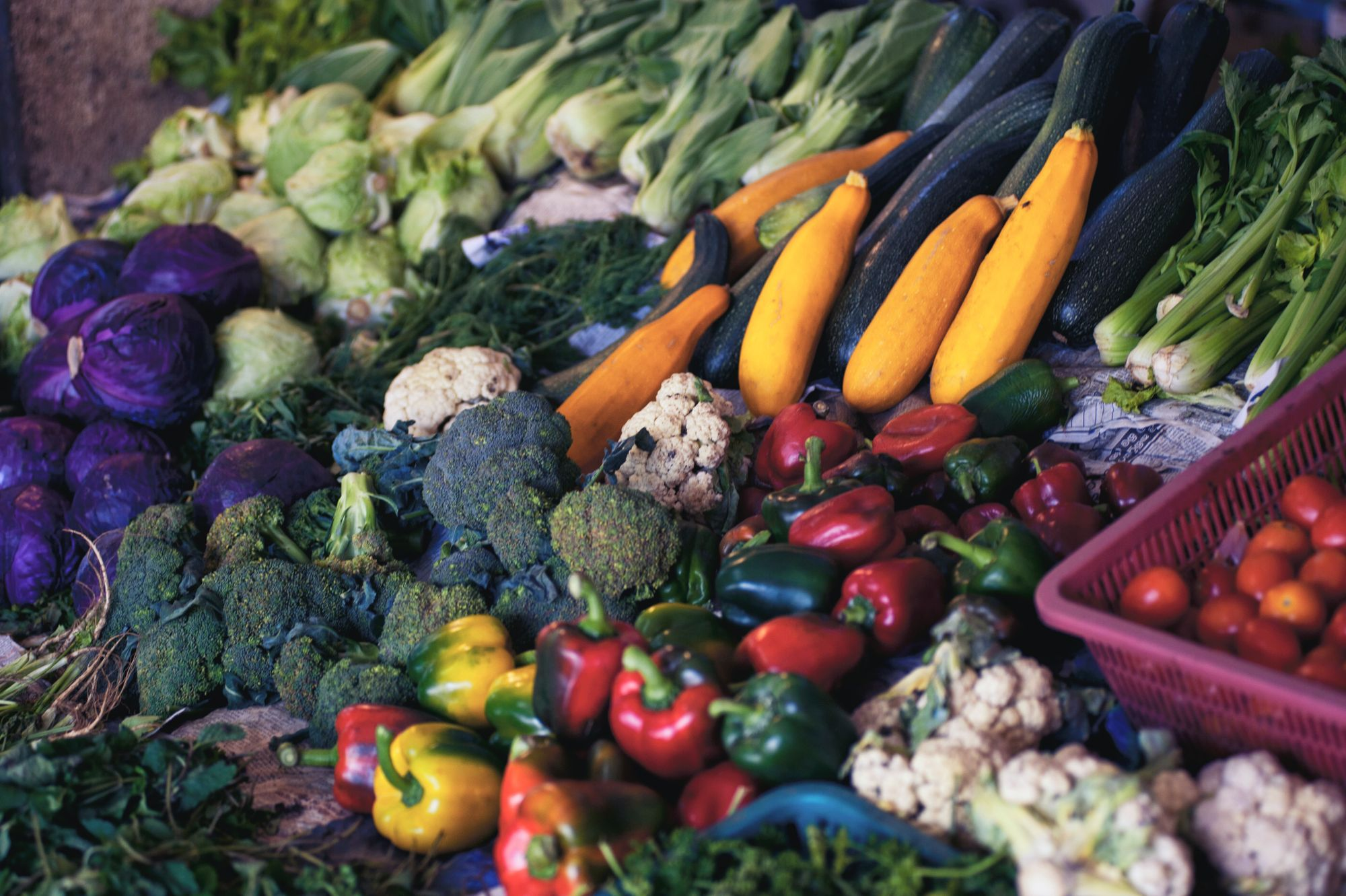 Feed your microbiome with locally-grown foods