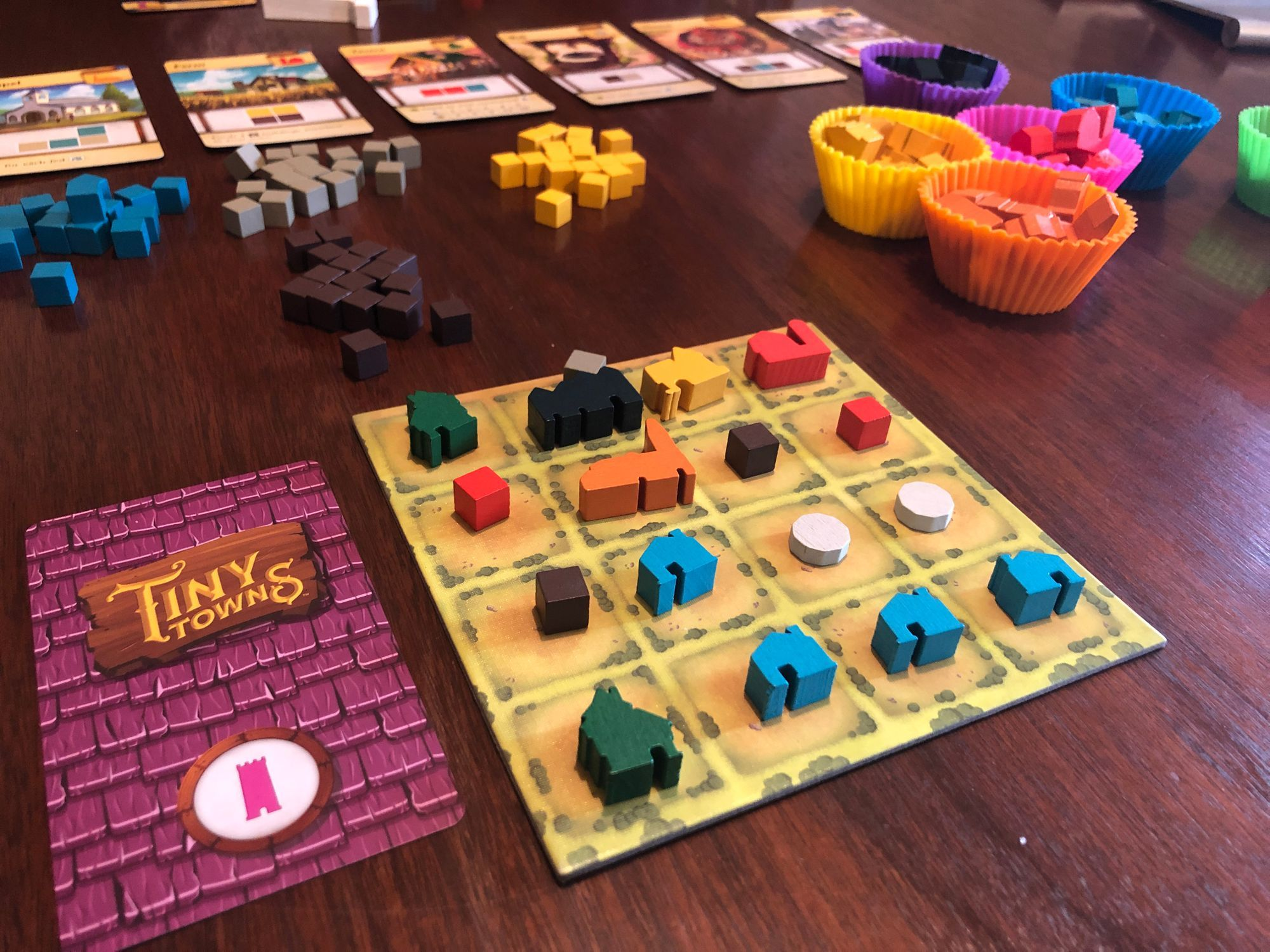 Game Review: Tiny Towns
