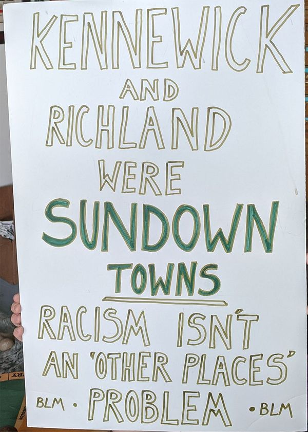 Sundown towns? Yes, sweet dear Richland. And Pasco*, too.