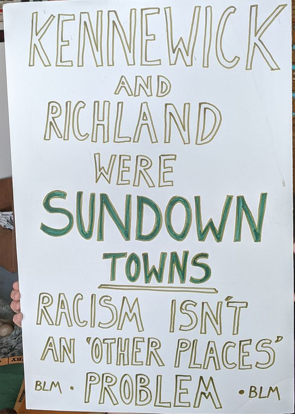 The Tri-Cities is a sundown town