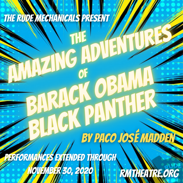 The Amazing Adventures of Barack Obama Black Panther
